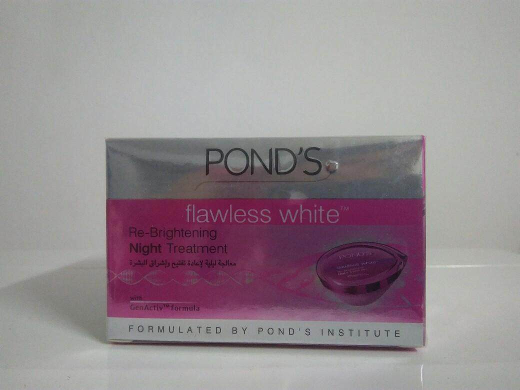 Ponds Flawless White Dewy Rose Gel 50g Daftar Harga Terupdate Pond S Brightening Night Cream 10g Re 50 Grams