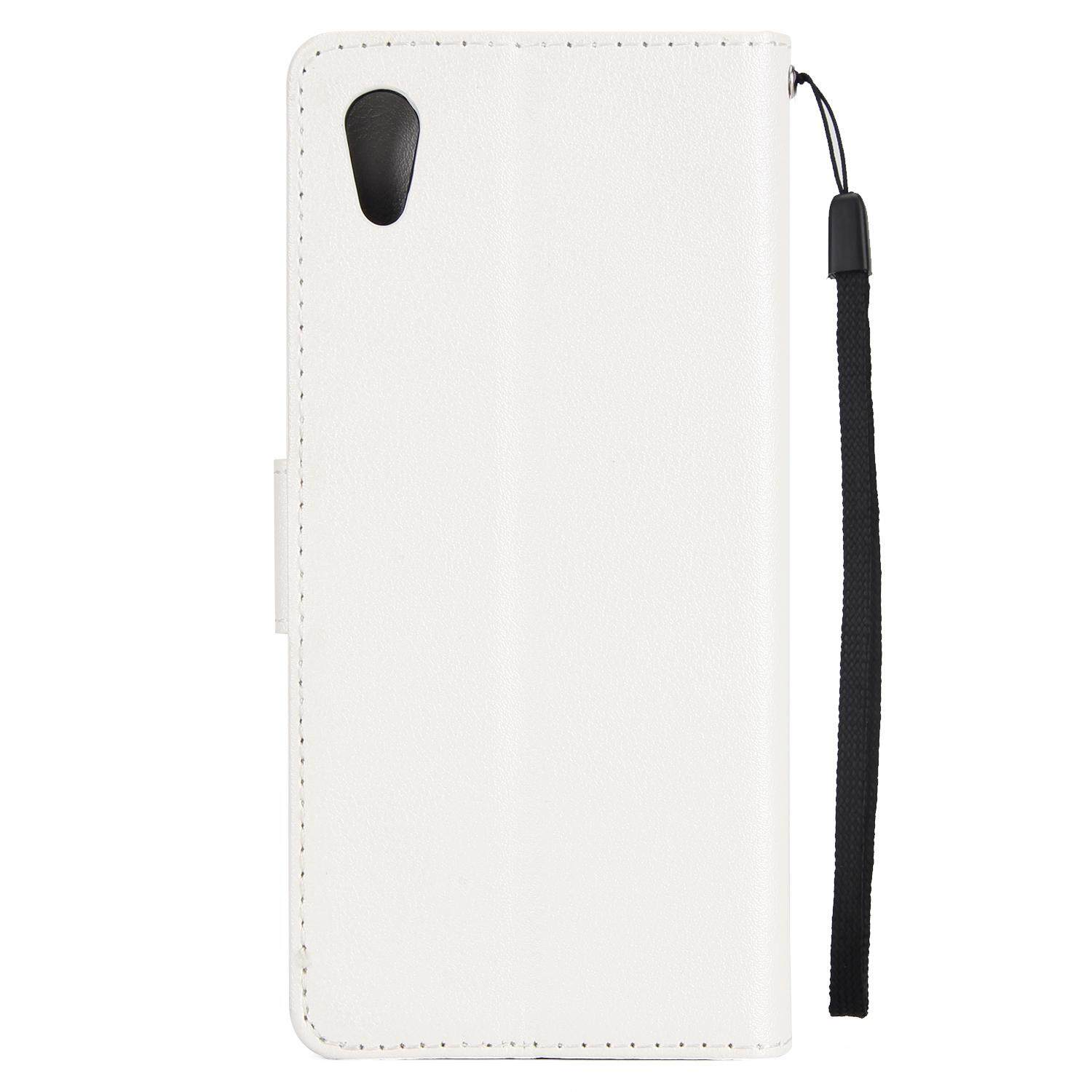 ... Case for Sony Xperia XA1 / Z6 - Classic Fashion style Wallet Flip Stand PU Leather ...