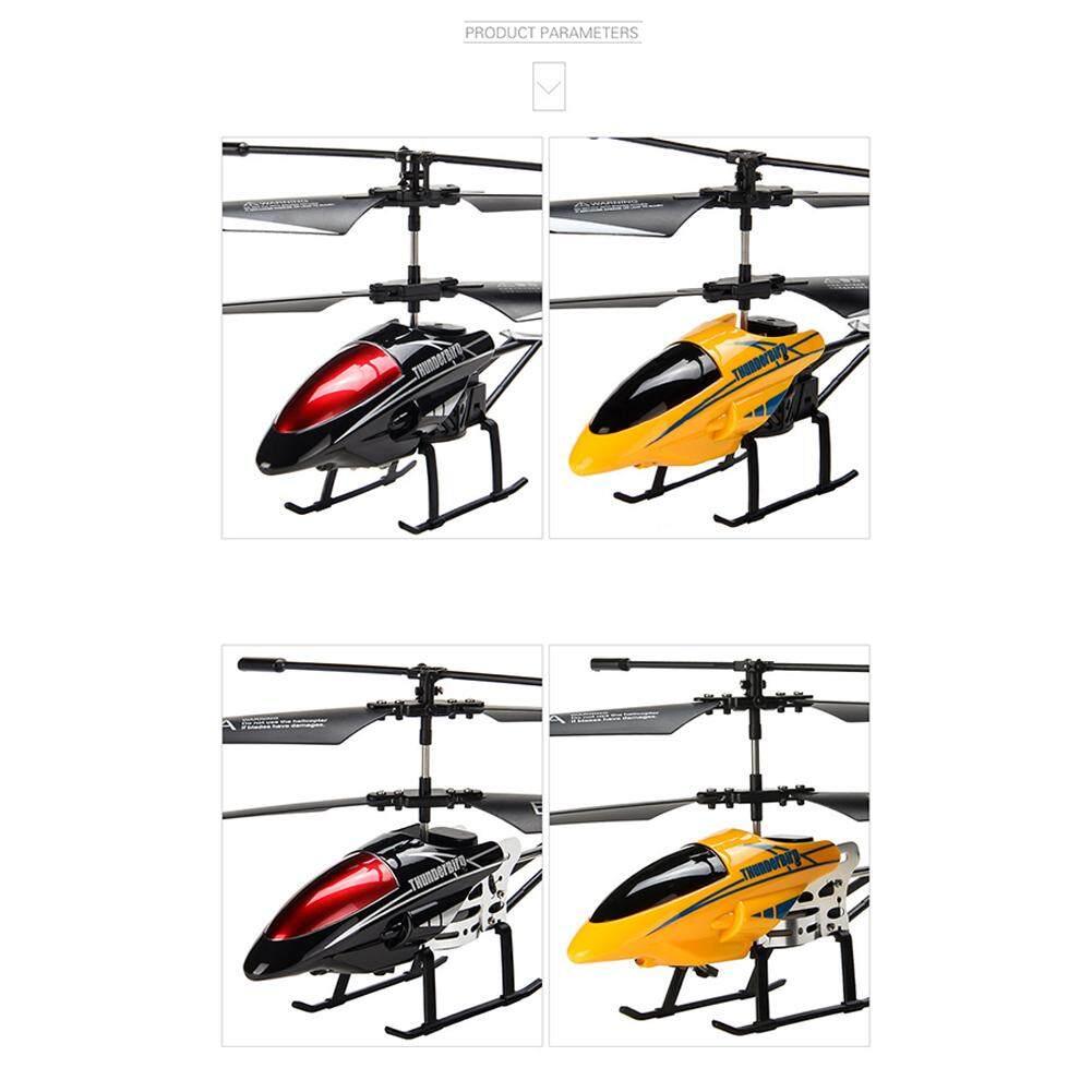Detail Gambar Paduan 3.5 Channel Helikopter RC Jatuh Tahan Elektronik Pengisian Mainan Model Pesawat untuk Anak-anak Terbaru