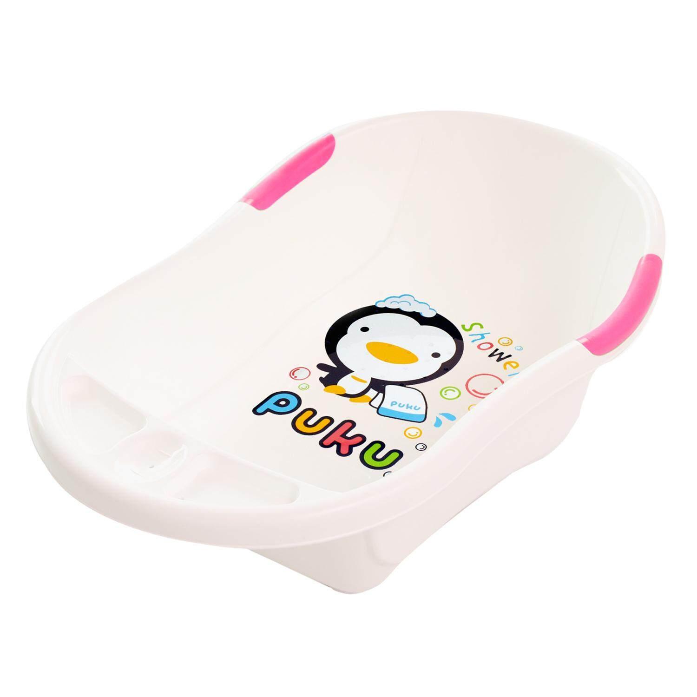 Puku Baby Bath Tub (L) Pink