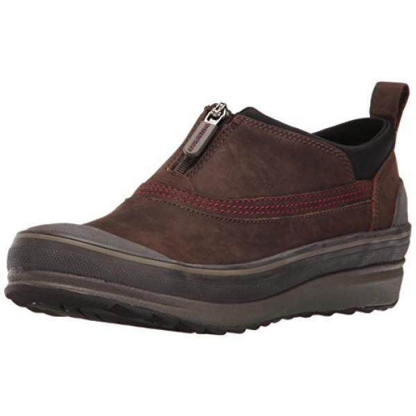 Clarks Wanita Muckers Ruck Sepatu Hujan Brown Nubuck, Kami/dari Amerika Serikat