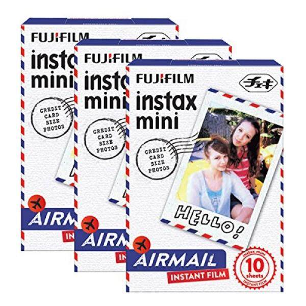Fujifilm Instax Mini Airmail 30 Film untuk Fuji 7 S 8 25 50 S 90 300 Kamera Instan, saham SP-1-Intl