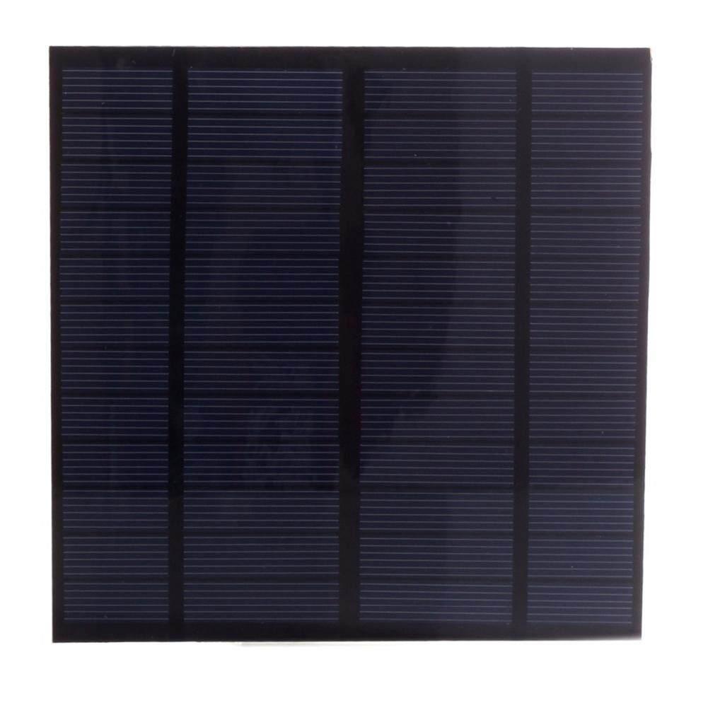 Tấm pin năng lượng mặt trời 12 V 3 Wát EVA-PET Lượng Mặt Trời Mini Pin Năng Lượng Mặt Trời Đa Tinh Thể Silicon Năng Lượng Mặt Trời Module DIY 145*145 mét