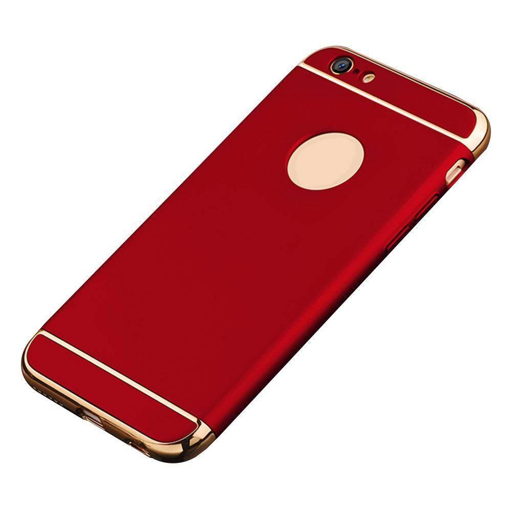 Langsung Menghukum Mati iPhone 7 Case, 3-Piece Ultra Ramping Modis Keras Melindungi Case Penutup Belakang Bumper Ringan untuk iPhone 7 4.7 Inch Emas-Intl