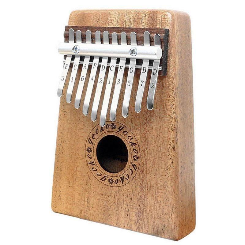 Gecko K10m Kalimba Music 10 Keys Mahogany Kalimba African Thumb Piano Finger Percussion Keyboard Music Instruments Malaysia