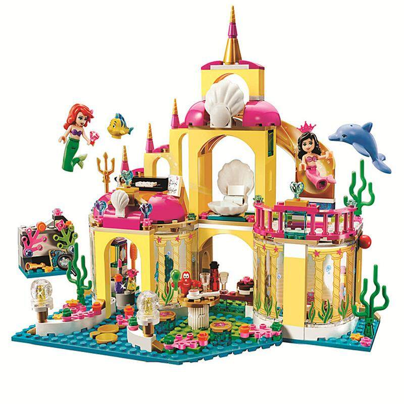 402pcs Princess Undersea Palace Girl Legoings Constructor Building Blocks Bricks Toys Children Christmas Gifts By Scotty Dream Paradise.