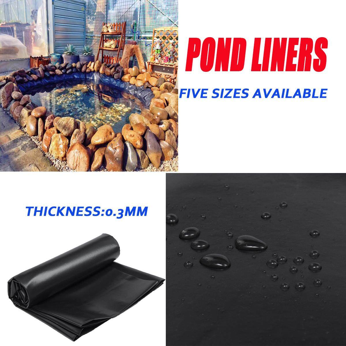 Fish Pond Liner Gardens Pools HDPE Membrane Reinforced Landscaping [3X2M]