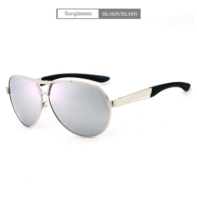 Hdcrafter Kacamata Hitam Modis Pria Kacamata Terpolarisasi Mengemudi  Kacamata HD Driving Lensa-Internasional 32b1265db3