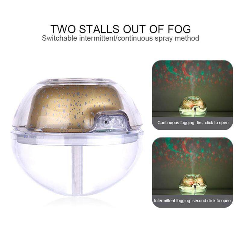 leegoal New USB Creative Crystal Projection Humidifier Home Colorful Projecting Air Purification Humidifier Night Light Singapore