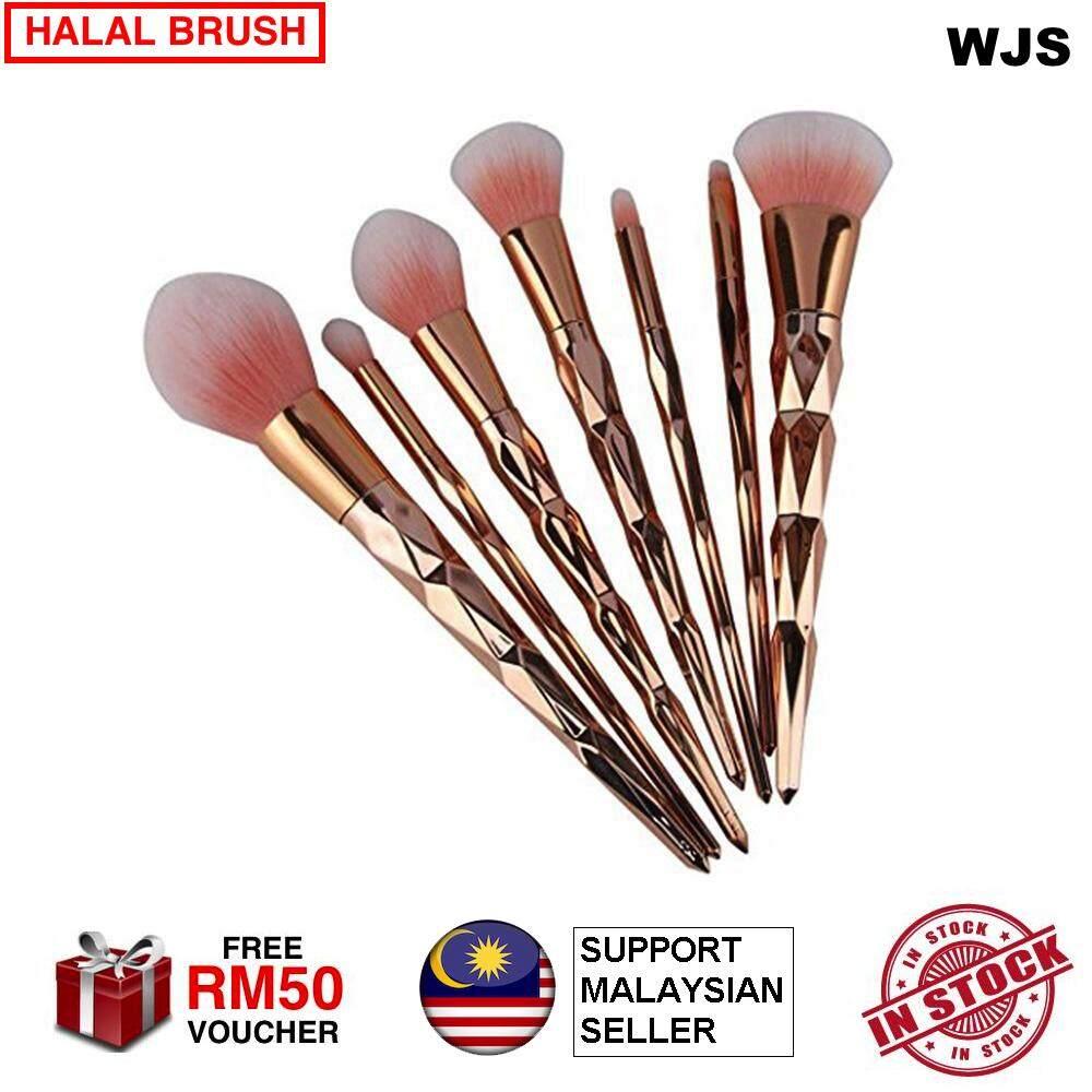 Review 10 Pcs Unicorn Makeup Brush Purple Dan Harga Terkini - e