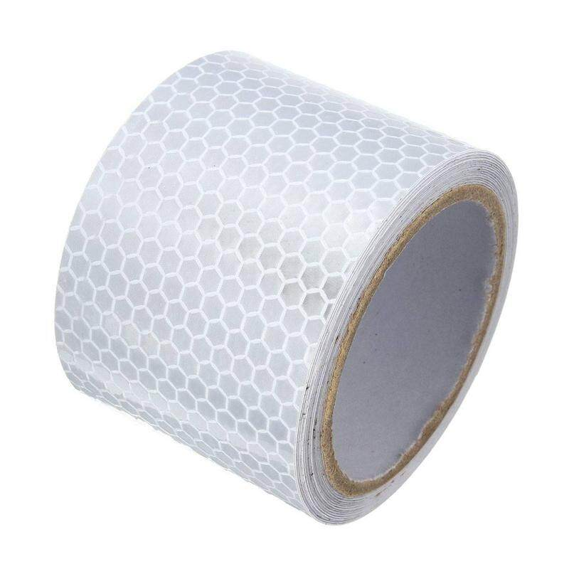 5X3m Silver White Reflective Safety Warning Conspicuity Tape Sticker Film - intl Philippines