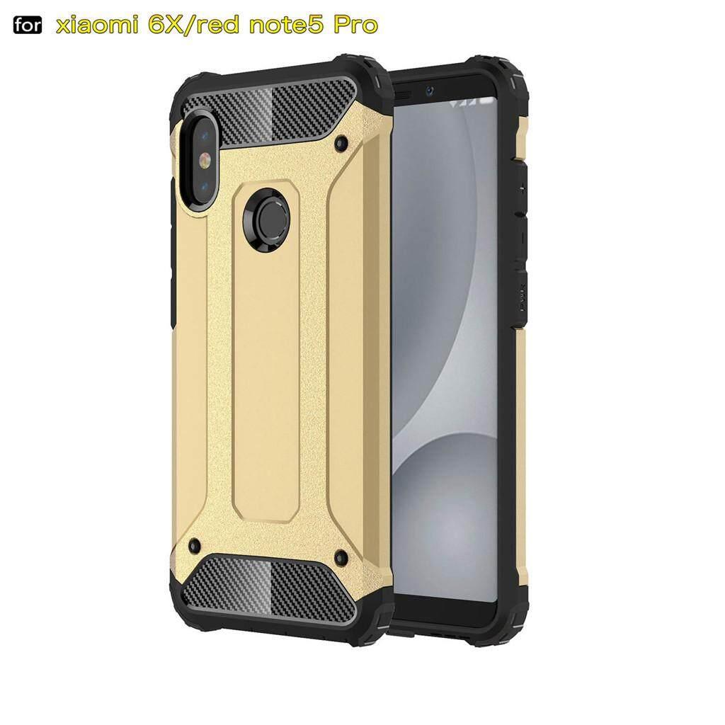 Fashion Sulit Pelindung Tahan Benturan Gaya Kasar Armor Casing Ponsel Penutup Sarung Kulit untuk Xiaomi Redmi Note 5/Redmi Note 5 Pro India versi (Sepuluh Warna Pilih Salah Satu)