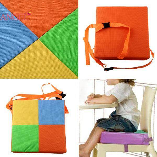 Soft Kids Chair Booster Cushion Highchair Seat Pad High Chair Cover New^