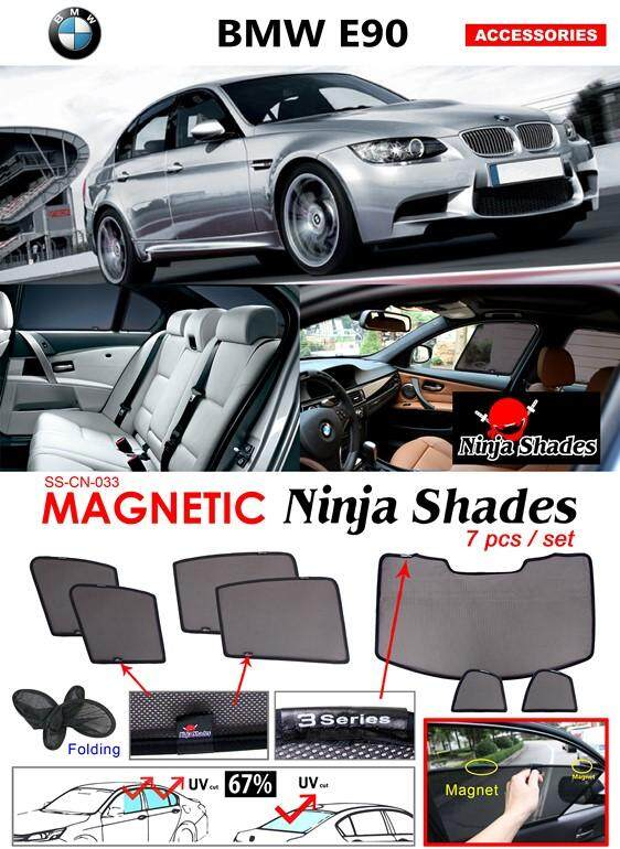 BMW E90 2004-2011 Magnetic Ninja Sun Shade Sunshade