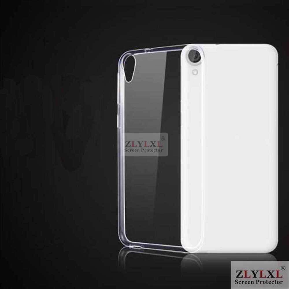 Case for HTC Desire 820 soft transparent TPU silicone phone bag back cover