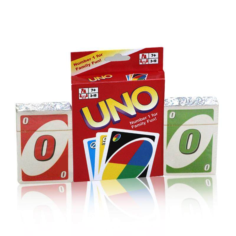 ... Family Entertainment Board Game UNO Fun Poker Playing Cards Puzzle Games Style:Standard Edition hanging ...