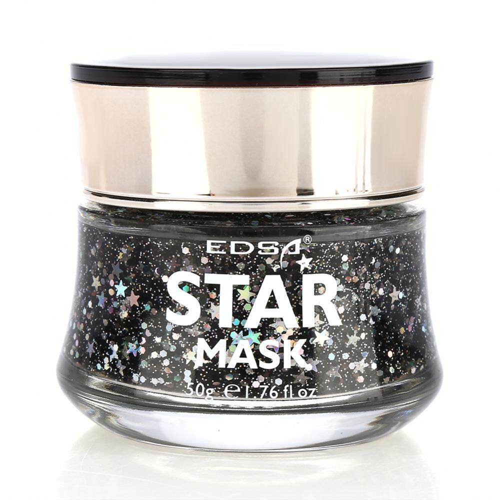 Detail Gambar Star Mask Starry Sky Glow Glitter Sequin Mask Peel off Moisturizing Mask Facial Skin