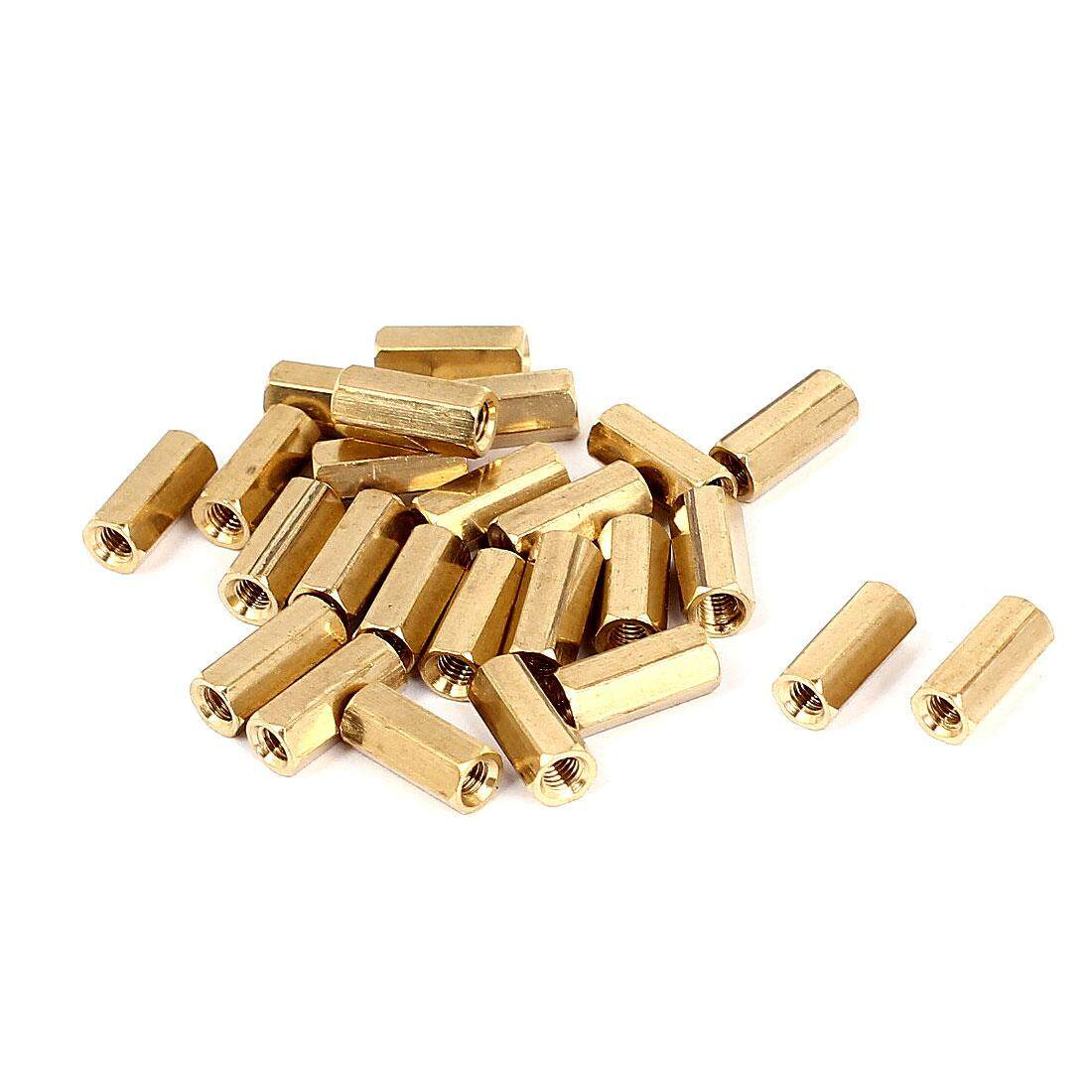 Buy Sell Cheapest Axa M3 12 Best Quality Product Deals 120pcs Copper Silver Brass Pillars Standoff Circuit Board Pcb Nut X 11mm Female Thread Hex Pillar Rod Spacer Coupler 25pcs