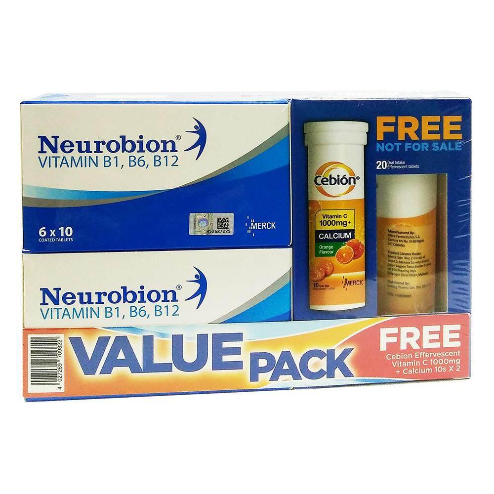 Neurobion Vitamin B1, B6, B12  2 x 60s