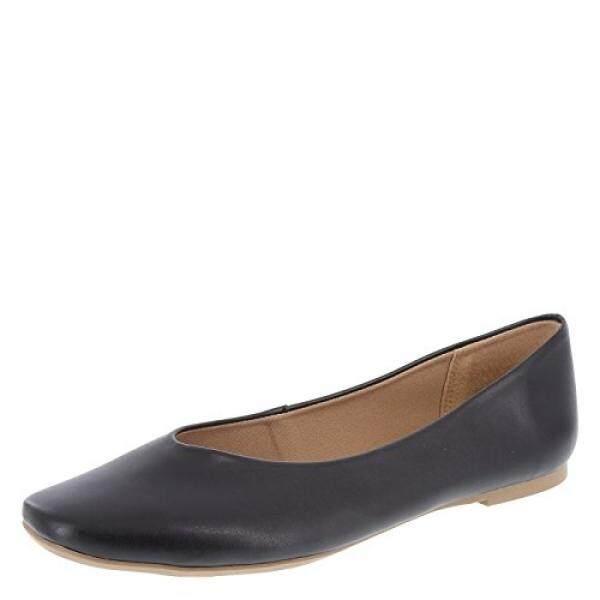 Christian Siriano untuk Payless Wanita Hitam Claudia Snip Toe Ballet Flat 12 Regular-Intl