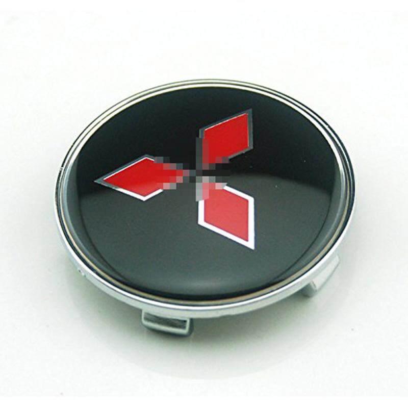 4 ชิ้นกลาง Hubcap Hub Cap หมวกฝาครอบล้อ (เช่นแสดงรูปภาพ) - Intl By Minew.