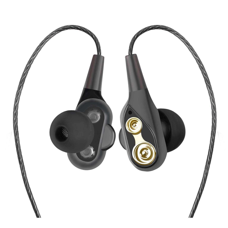 Orzbuy Headset Nirkabel Headphone Bluetooth Sport In-Ear IPX 6 Earphone Tahan Basah (Super