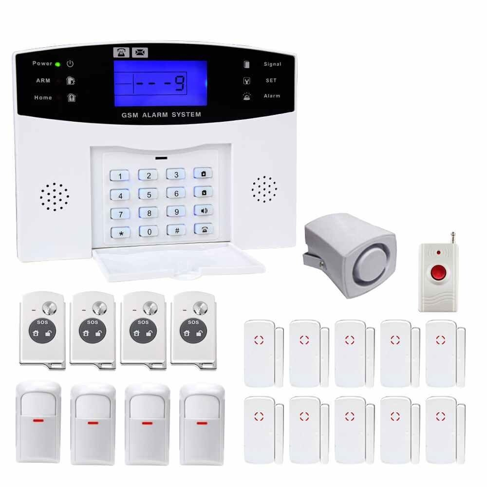 LITAO YA-500-GSM-22 Wireless GSM Home Burglar Alarm System Exquisite Design - intl