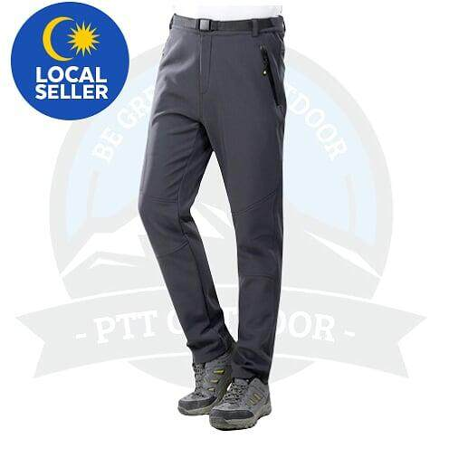 [ BEST SELLER ] Outdoorsports Hiking Male Pants #6819 Hiking Pants For Men Outdoorsports Hiking Pants - Grey