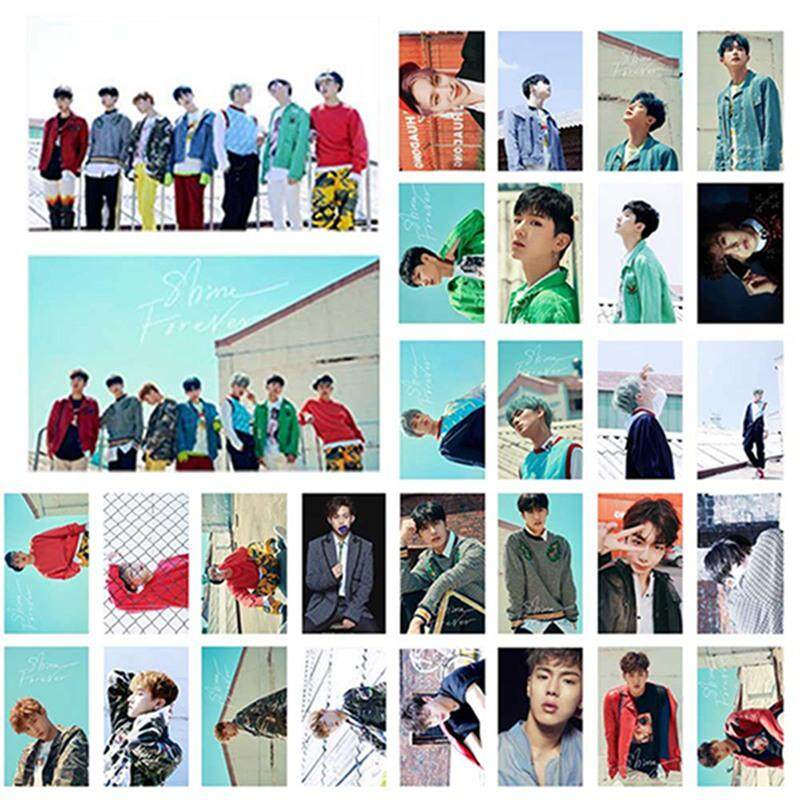 30pcs\set KPOP EXO Lomo Card MONSTA X MAMAMOO SNSD Picture Personal Po Picture Poster Card