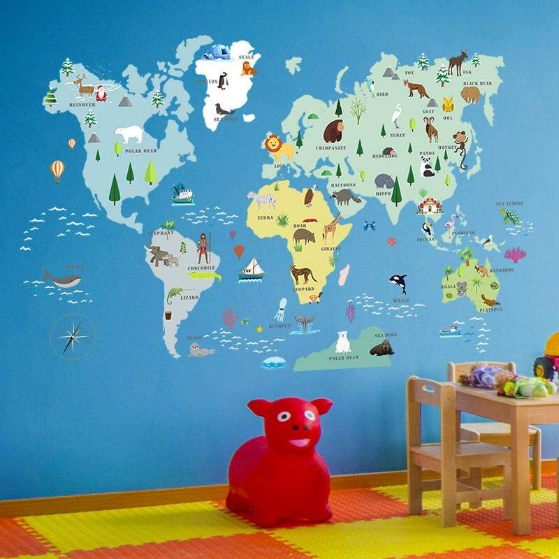 Wall Stickers, Living Room Bedroom Wall Landscaping Decorative Stickers -150*80cm