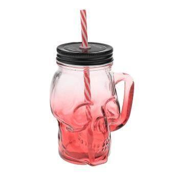 Pencarian Termurah Dolity Glass Coffee Tea Mug Cup for Camping Travel Home Office School 480ml Red Skull harga penawaran - Hanya Rp112.614