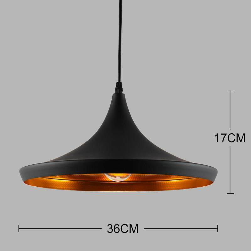 Nordic Lighting Fixtures Modern Minimalist Chandelier Bar Restaurant Single Head Chandelier Dining Table Office Aluminum Lamps - intl