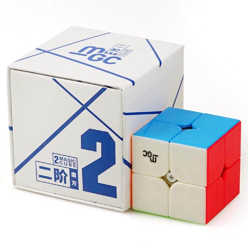 Veecome YJ MGC 2X2 Magnetik Balok Ketangkasan Kubus Puzzle Twist Mainan Edukasi