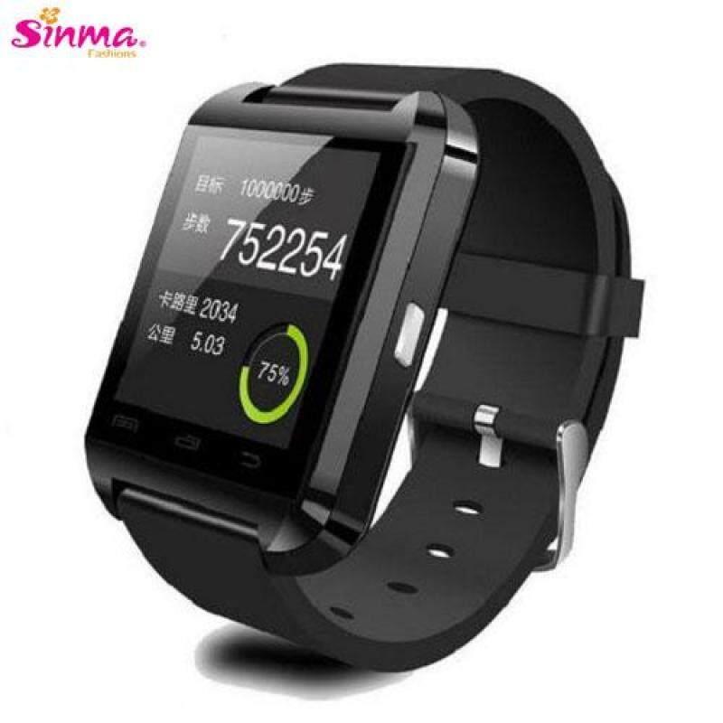 U8 Watch Bluetooth Touch Screen Smart Watch (Black) Malaysia
