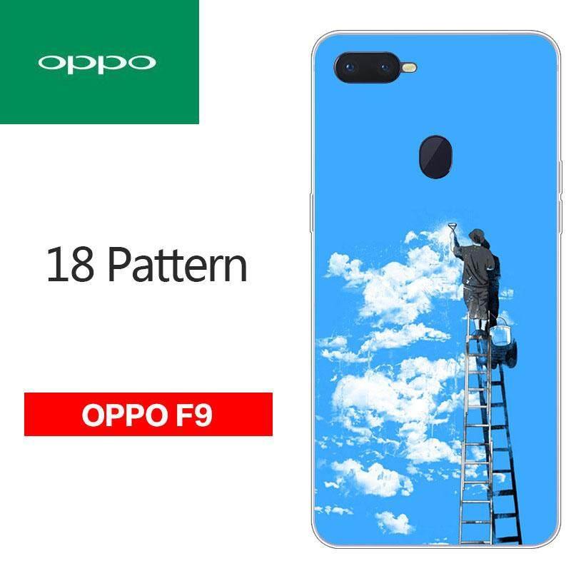Produk Baru Kepribadian Casing Ponsel untuk OPPO F9 Hewan Cetak Kartun Dicetak Pelindung Case 917