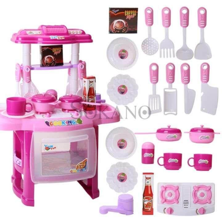 (RAYA 2019) SOKANO Mini Kitchen Fun Playset With Full Utensils Set