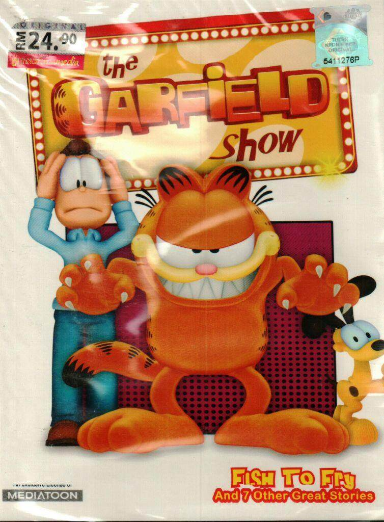 The Garfield Show Fish To Fry DVD