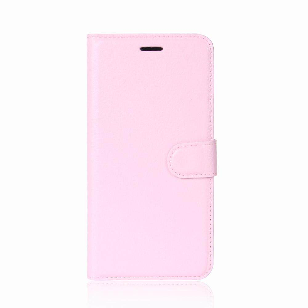 Leather Flip Cover Phone Case Wallet Card Holder For OPPO F7 Youth - 2