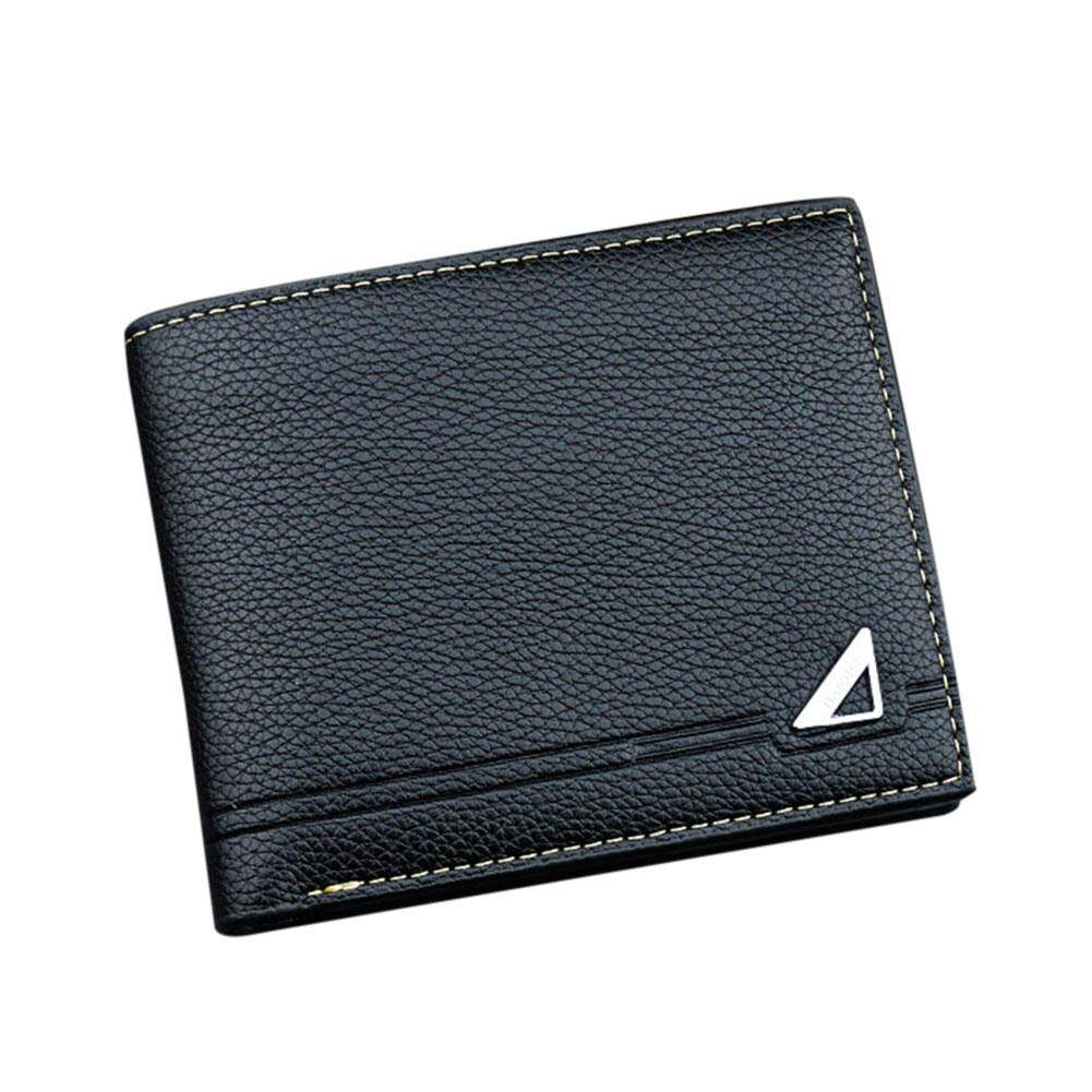 Amart Fashion Men Wallets Purse PU High Capacity Mini Durable For Coin Money Cards Holder -