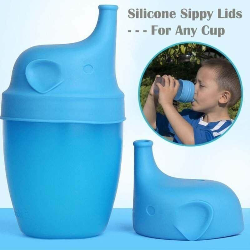 Zoahu 1pcs Silicone Kids Baby Sippy Lids Sippy Cup Leak Proof For Baby Children Kids - Intl By Zoahu.