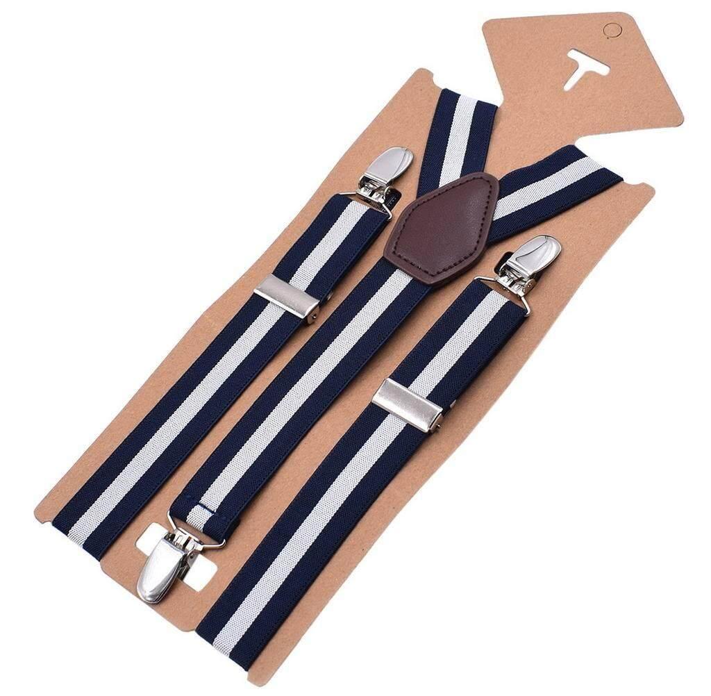 bdef2bc03 Xiang Ru Mens Y-back Adjustable Braces Solid Straight Clip Suspenders