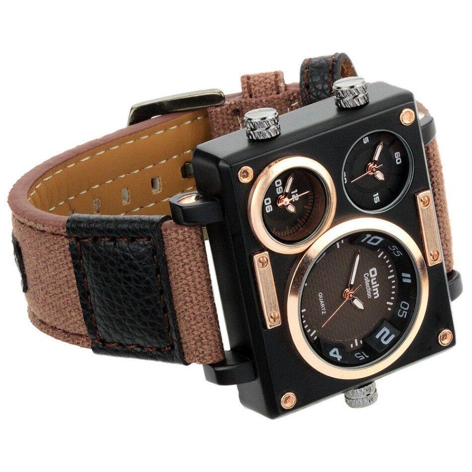 Oulm 3595 Men Quartz Watch--019
