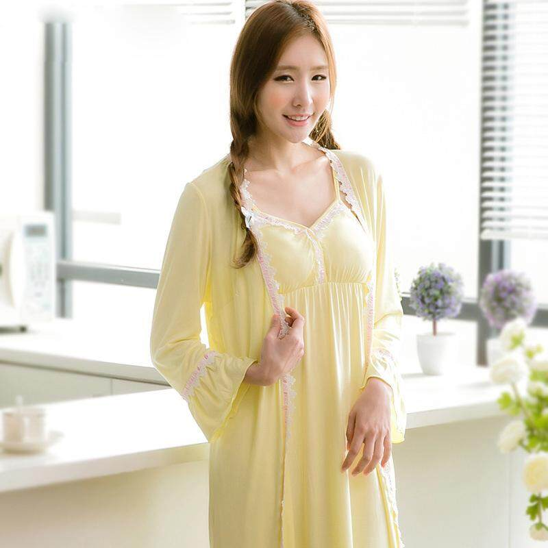 GRLBOBRA bamboo fiber two-piece home service Japan and South Korea Ms. sexy  cup f1a955d7e