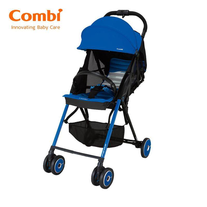 Combi Stroller F2 Plus AF Baby Super Lightweight Pacific Blue 165 Degrees New