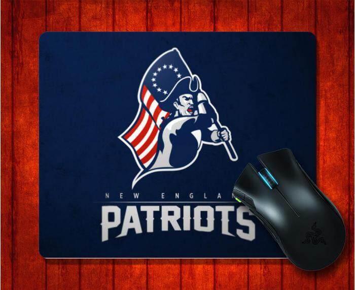 Mouse Pad dengan New England Patriots Sepatu untuk Pria Superbowl Li Gambar untuk Alas Mouse Desain Gambar Alas Mouse Permainan 9.5X7.9 inci (240X200X3 Mm) -Intl