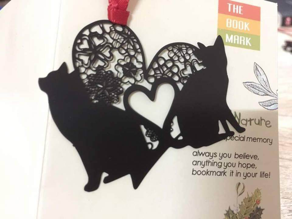 Couple Cat Bookmark