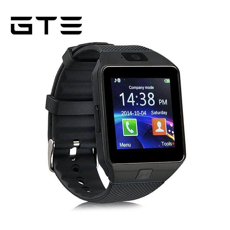 GTE Smart Watch DZ09 Smartwatch With Camera Sim Card Smartwatch Android IOS Bluetooth Smartphones - Fulfilled by GTE SHOP Malaysia