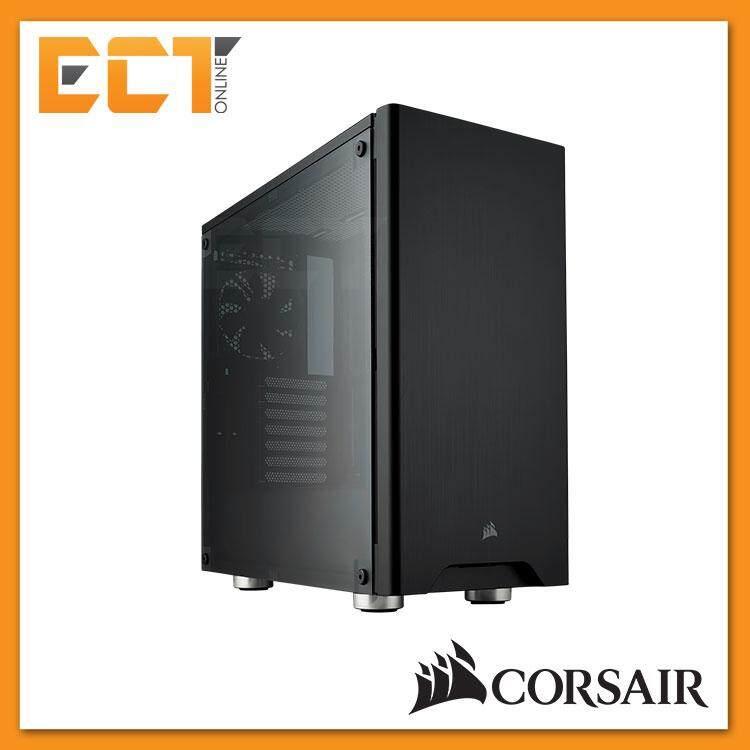 Corsair Carbide Series 275R Mid-Tower Gaming Case - White/ Black Malaysia