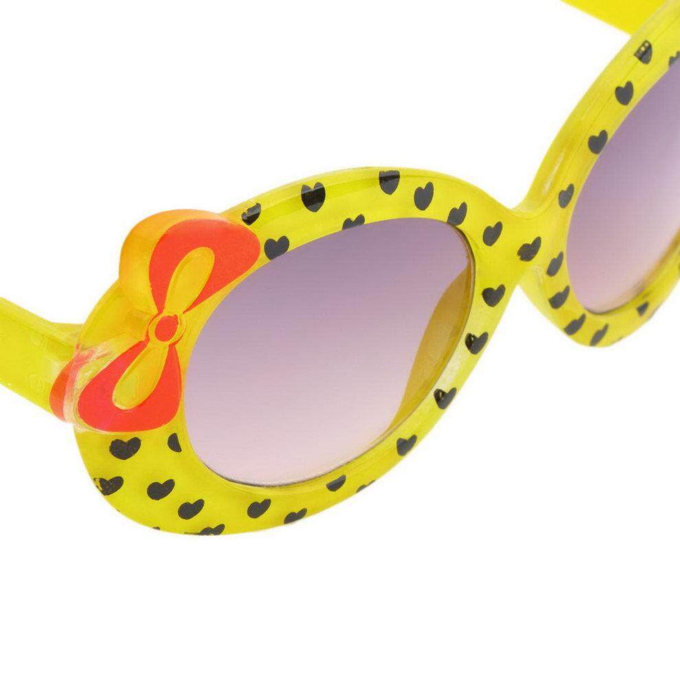 ... Popo Fashion Bayi Anak Kacamata Hitam Kacamata Plastik Gadis Kacamata Busur - 4 ...