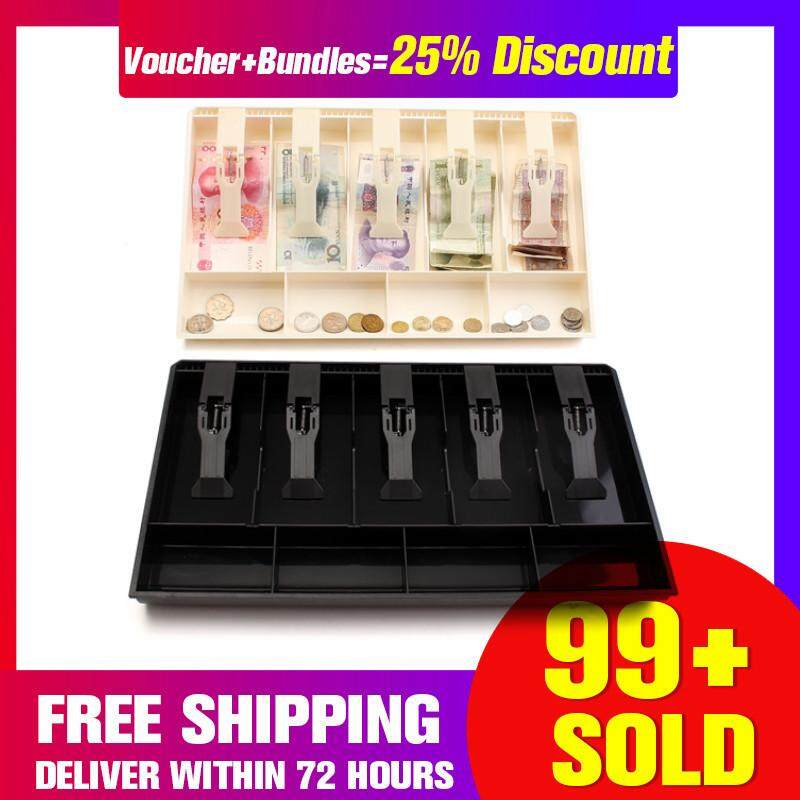 【Free Shipping + Super Deal + Limited Offer】Money Cash Coin Bill Register Insert Tray Replacement Cashier Drawer Storage